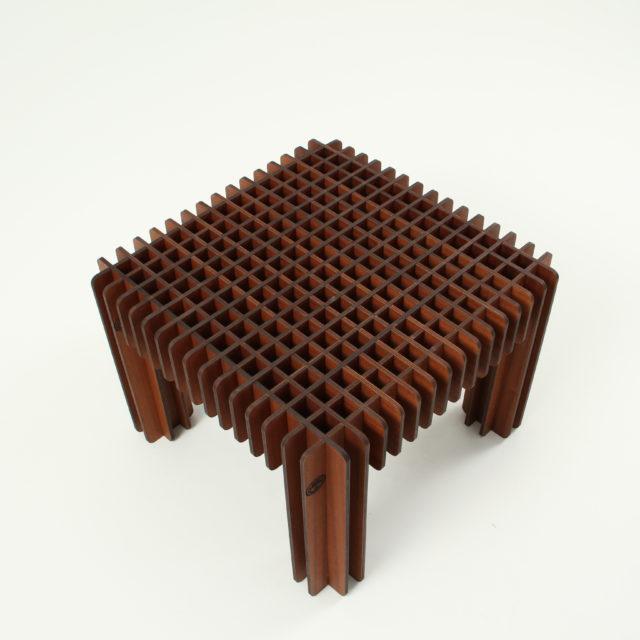 """Стол деревянный из сот """"Свой Стиль"""" темный. Вид 1"""